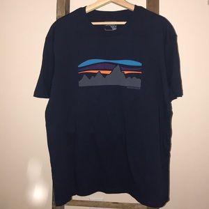 NWT Men's Fitz Roy Banner organic cotton T-shirt